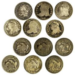 NY - Buffalo,Erie County - 1821-136 - Capped Bust Dimes - Fell Collection