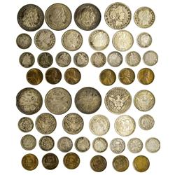 NY - Buffalo,Erie County - 1890s-1920s - Assorted Coins Of Mixed Denominations - Fell Collection