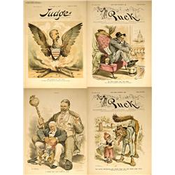 NY - New York,1887-1889 - Puck/Judge Magazine Grand Army of the Republic Illustrations
