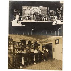 c1910 - Saloon Interior RPC's