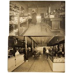 c1910 - Soda Fountain Saloon Interior RPC's
