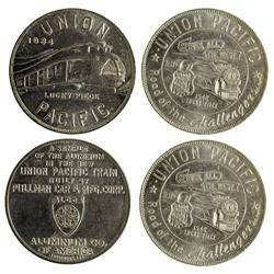 Union Pacific Tokens