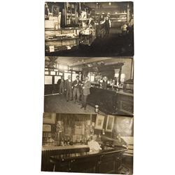 Dakota North - c1913 - Saloon Interior RPC's