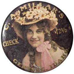 ID - Genesee,Latah County - c1910-1920s - C.A. Millar's Saloon Mirror