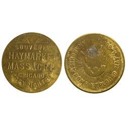 IL - Chicago,Cook County - Haymarket Massacre Souvenir Medal