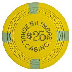 NV - Crystal Bay,Washoe County - Tahoe Biltmore Casino $25 Chip