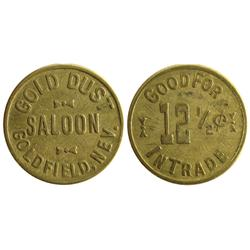 NV - Goldfield,Esmeralda County - Gold Dust Saloon Token