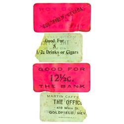 NV - Goldfield,Esmeralda County - Goldfield  Tickets - Gil Schmidtmann Collection