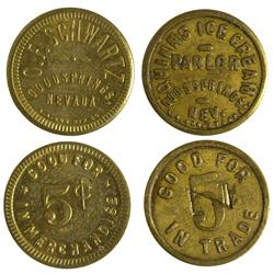 NV - Goodsprings,Clark County - Goodsprings Tokens - Gil Schmidtmann Collection
