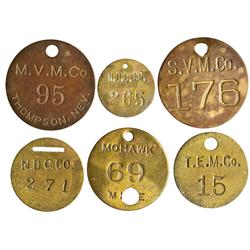 NV - Ludwig,Lyon County -  Mining Company Tokens - Gil Schmidtmann Collection