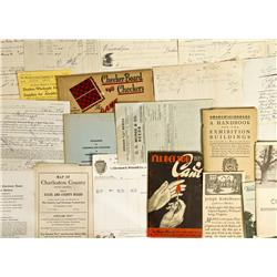 Document Grab Bag - Gil Schmidtmann Collection