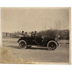 1913 - Four-Seater Automobile Photo - Gil Schmidtmann Collection