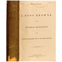1868 - J. Ross Browne Book - Gil Schmidtmann Collection