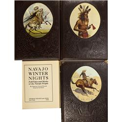 1938, 1973, 1975 - Native American and American West Themed Books