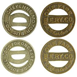 Two Transportation Tokens