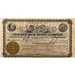 AZ - Payson,Gila County - 1907 - Cracker Jack Mining Company Stock - Fenske Collection