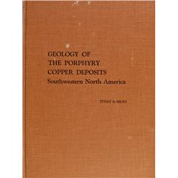 AZ - Tucson,Pima County - 1966 - Geology of the Porphyry Copper Deposits Book
