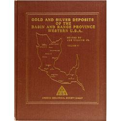 AZ - Tucson,Pima County - 1984 - Gold And Silver Deposits of the Basin and Range Province Western U.