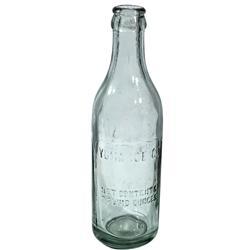 AZ - Yuma,c1917 - Yuma Ice Company Bottle