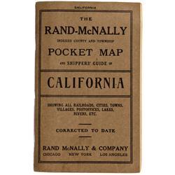 CA - 1914 - California Pocket Map - Gil Schmidtmann Collection