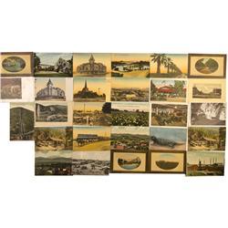 CA - Postcard of Central California - Gil Schmidtmann Collection