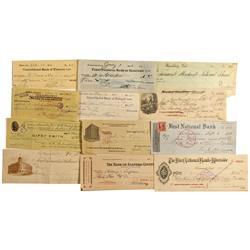 CA - Southern California Check Collection - Gil Schmidtmann Collection