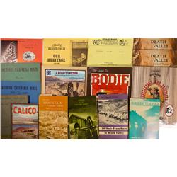 CA - 1942-2004 - Southern California Mining Country books - Gil Schmidtmann Collection