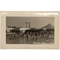 CA - Balboa,Balboa Postcard
