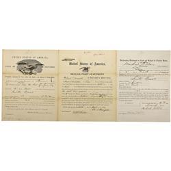 CA - Fresno,Fresno County - 1860-1870 - Fresno County Land Documents