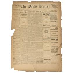 CA - San Bernardino,1875 - Daily Times Newspaper, The - Gil Schmidtmann Collection