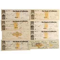 CA - San Francisco,California Checks - Gil Schmidtmann Collection