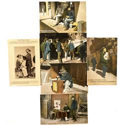 CA - San Francisco,Chinese in California Postcards - Gil Schmidtmann Collection