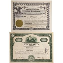 CO - San Miguel,1956 - Silver Bell Mines Co. Stock Certificates - Fenske Collection