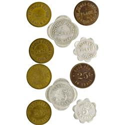 Dakota South - Lead,Lawrence County - Cotton's Place Tokens
