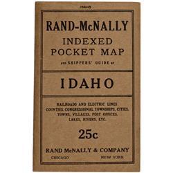ID - 1915 - Idaho Pocket Map - Gil Schmidtmann Collection