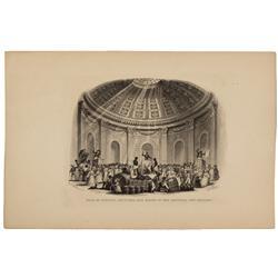 LA - New Orleans,c1840s - Slave Auction Illustration