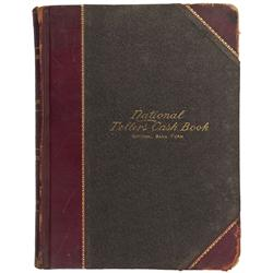MA - Holyoke,Hampden County - n.d. - National Teller's Cash Book