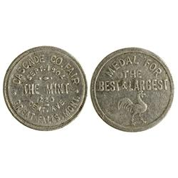 MT - Great Falls,Cascade County - Cascade County Fair Token