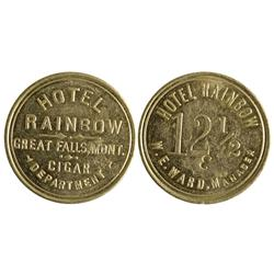 MT - Great Falls,Cascade County - Hotel Rainbow Token