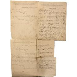 NV - Aurora,Mineral County - 1865 - Esmeralda- Consolidated Company Letter