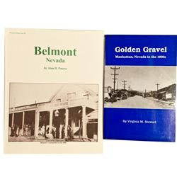 NV - Belmont & Manhattan,1992 - Nye County, Nevada Publications