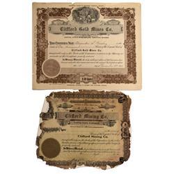 NV - Clifford,Nye County - 1926 - Clifford Mining Area Stocks