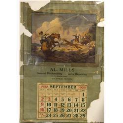 NV - Goldfield,Esmeralda County - 1928 - 1928 Elwell Calendar - Gil Schmidtmann Collection