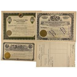 NV - Mina,Mineral County - 1921-1929 - Simon Mining Documents - Clint Maish Collection