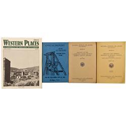 NV - Mineral County, Esmeralda County,1959, 1961, 1963, 1993 - Aurora Area Related Books - Gil Schmi