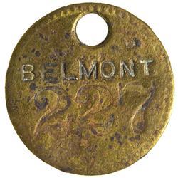 NV - Tonopah,Nye County - Belmont Mine Token - Gil Schmidtmann Collection