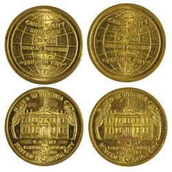 """NV - Virginia City,Storey County - 1940 - World Premiere of the Movie """"Virginia City"""" Tokens - Gil S"""