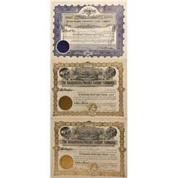 NV - Yerington,Lyon County - 1920 - Yerington Area Copper Mining Stock Certificates - Fenske Collect