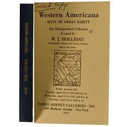 NY - 1954 - Catalog, Parke-Bernet Galleries, Inc., Western Americana: Many of Great Rarity