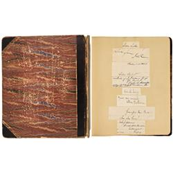 NY - New York,c1895 - Scrap Book Medical School - Gil Schmidtmann Collection